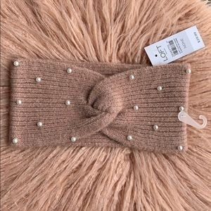NWT❗️ LOFT Embellished Cold Weather Headband